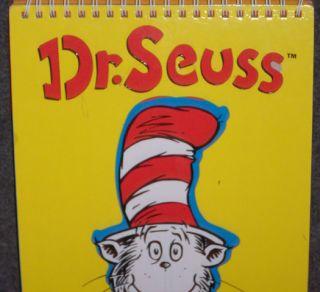Dr. Seuss CAT IN THE HAT STENCIL FUN BOOK Five Mile Press GRINCH SAM I