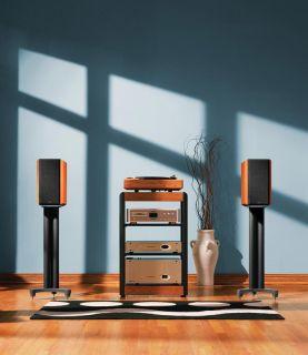 Pair LSI9 Ebony Bookshelf Loudspeakers Polk Audio