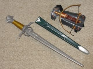 NEW Prince Caspian Costume, & Sword, Chronicles of Narnia, Boys 10 12