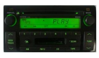 Toyota Camry OEM CD Cassette radio. Factory original stereo. AD6809