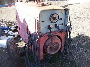 Hobart Trailered Gas powered welder Model G262 250 amp stick pipeliner