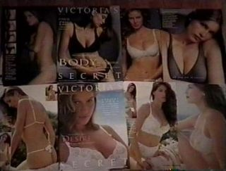 Victorias Secret 2000 Resort Laetitia Casta Klum Thong