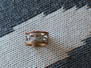 Cathy Waterman Platinum Diamond Band Ring 22kt Gold