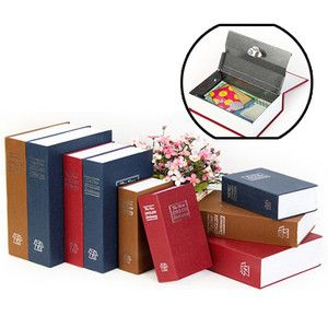 Dictionary Secret Book Hidden Safe Hide Cash Key Lock