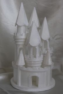 Styrofoam Fairy Princess Castle Cake Topper Birthday