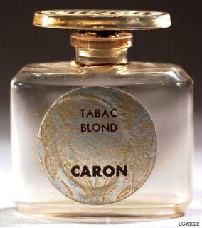 Caron Fragrances Le Tabac Blond 1919 Paris France Perfume Large