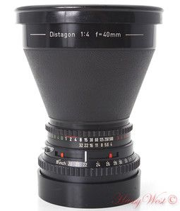 Hasselblad 40mm 1 4 C Carl Zeiss Distagon Wide Angle Lens 40 F4 Used