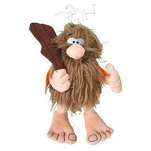 Hanna Barbera The Flintstones Captain Caveman 10 Talking Plush New by