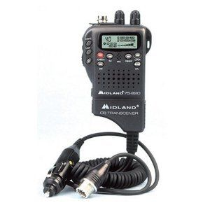 40 Channel Hand Held Micro CB Radio Weather Alert Brand 2012