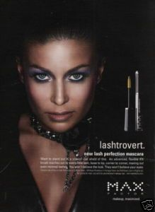 Carmen Electra Max Factor 2006 Magazine Print Ad K