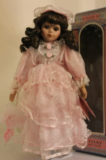 "CATHAY COLLECTION Certified Ltd. Ed. 16"" Porcelain Doll LYNRTTE"