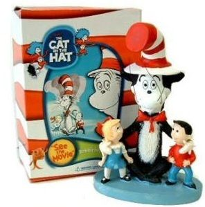 Dr Seuss Cat in The Hat Birthday Party Cake Topper