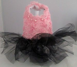 Spoiled Dog Cat Harness Tutu Dress XXS XS SM Simply Gorgeous