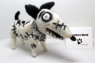 Sneffcas World Presents OOAK Needle Felted Sparky from