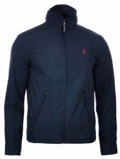 Polo by Ralph Lauren Mens Windbreaker Jacket Coat All Sizes Black Navy