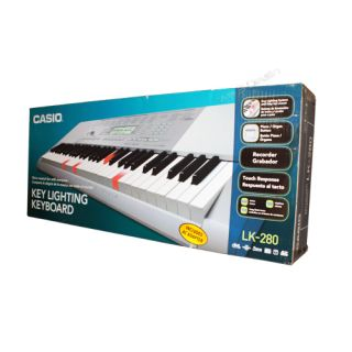 New Casio LK 280 Portable Keyboard Light Up 61 Keys Electronic Digital