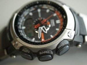 Casio PAW5000 1 Pathfinder Solar Atomic Men Watch