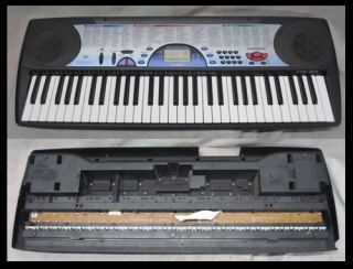 used casio ctk 471 keyboard 61 keys non weighted 100 different tones