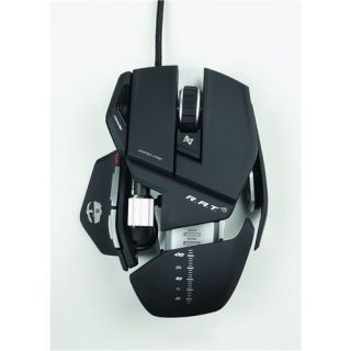 New Cyborg R A T 5 Laser Mad Catz Gaming Mouse for PC Rat 5