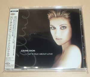 Celine Dion Lets Talk About Love Japan Promo CD ESCA