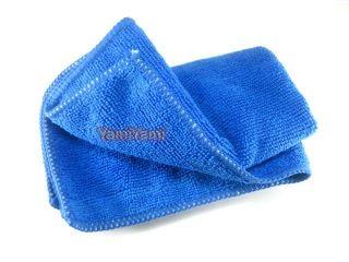 Microfiber Fiber Car Glove Clean Cleaning Bath Face Cloth Towel Travel