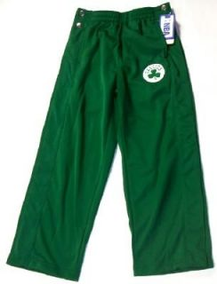 Boston Celtics NBA Tear Away Pants Youth XL 14 16 New