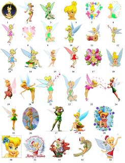 Tinkerbell Cartoon Return Address Labels Favor Tags Gift Buy 3 Get 1