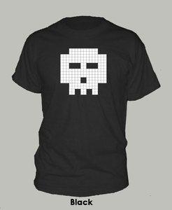 Bit Skull T Shirt Cera Scott Pilgrim Comic Funny Goth Extra Large