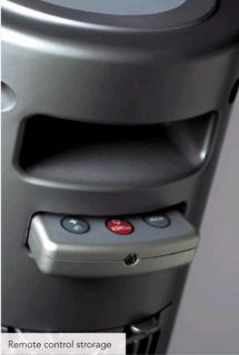 Portable 35 Electric Pedestal Ceramic Heater Sunpentown 1500 Watt
