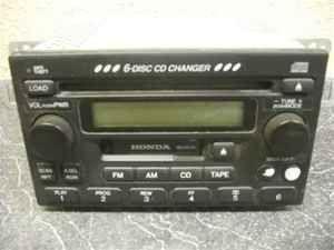 2001 2002 honda accord 6 cd player radio 1ta1 oem lkq