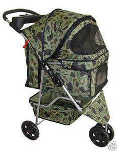 BestPet 3 Wheels Pet Dog Cat Stroller 18 Color Choices Free Rain Cover