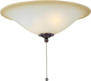 FKT1012WSOI Oil Rubbed Bronze 3 Light Ceiling Fan Light Kit