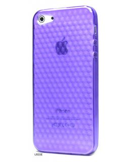 Clear Soft Silicone Rubber Snap Cover Case for iPhone 5 U503E