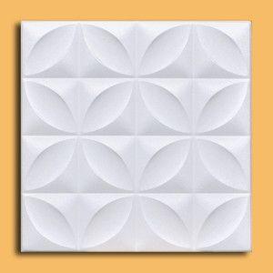 Closter White Styrofoam Ceiling Tile Easy Instalation Glue Up