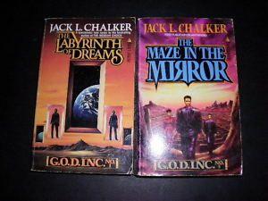 Jack L Chalker G O D God Inc Trilogy Lot Books 1 3