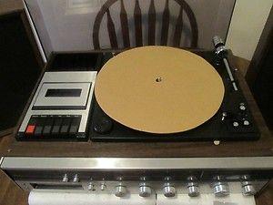 Radio 8 track Tape Player Cassette Tape Player Recorder Belt Drive