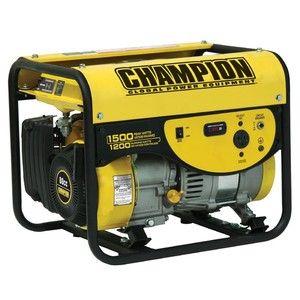 Champion Power Equipment 1200 1500 Watt Portable Generator Carb 42431