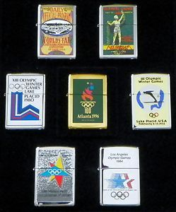 1996 ZIPPOS OLYMPIC GAMES CENTENNIAL SERIES COLLECTIBLE ITEMS
