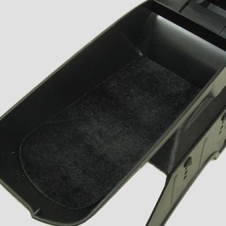 Armrest Centre Console Universal New Black Eco Leather