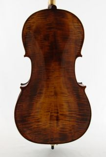 Cello Solid Carved Hamburg Cello by Vienna Strings