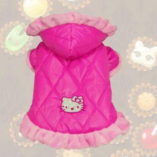 Warm Pet Dog Cat Clothes Puppy Coat Jacket Costume Apparel Clothing