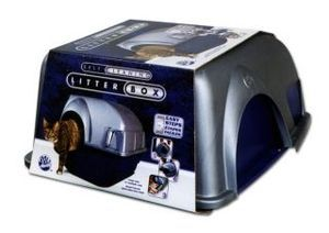 Omega Self Cleaning Large Cat Litter Box