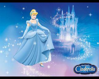 Disney Princess Cinderella Fairytale Castle + Cinderella 2012