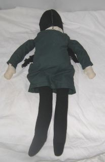 1960s Addams Family Wednesday Addams Rag Doll 22 Tall Chaz Addams