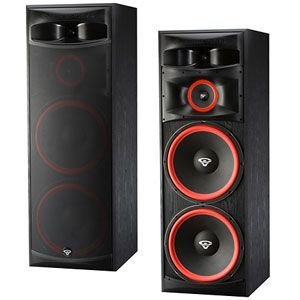 New Cerwin Vega XLS 215 Dual 15 Woofer 1 Floorstanding Home Audio