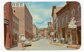Central City Co 1950 60s Street View Postcard PC6343