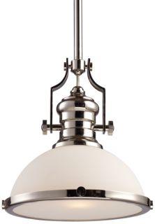 Chadwick Polished Nickel Hanging Pendant Light 13 W