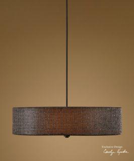 Contemporary Pendant 3 Light Hanging Lamp Chandelier Lighting Fixture