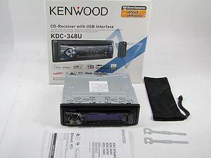 348U  USB Aux iPod Car Audio CD Player Radio Stereo Receiver