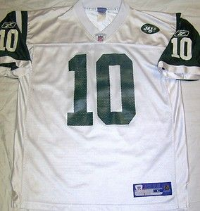 Chad Pennington New York Jets Jersey Large NFL Football Vtg #10 Reebok